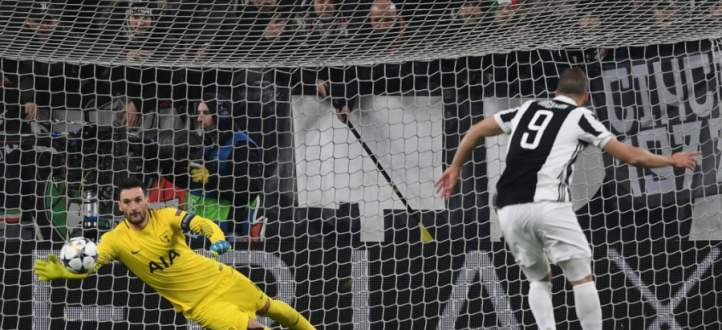 اهداف مباراة توتنهام ويوفنتوس في دور ال 16 من دوري ابطال اوروبا