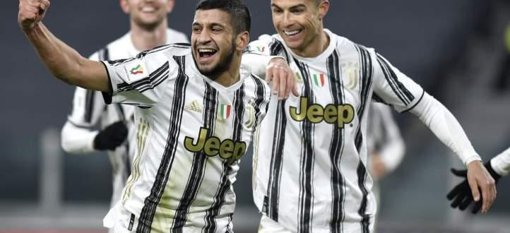 أهداف مباراة يوفنتوس وجنوى في كأس إيطاليا