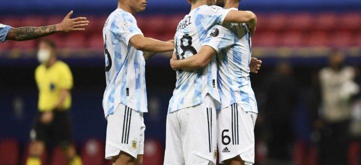 مجريات مباراة الارجنتين والاوروغواي في كوبا اميركا