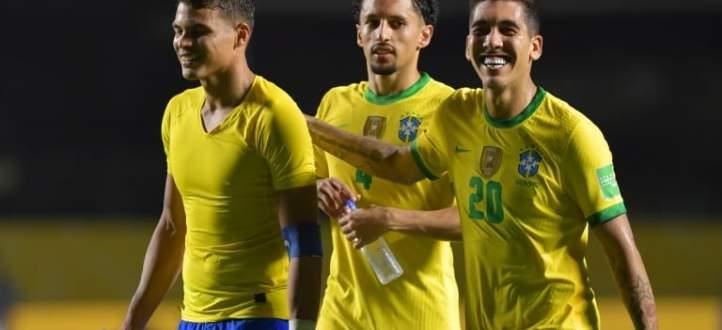 هدف البرازيل في مرمى فنزويلا