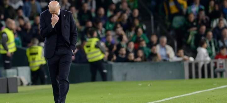 زيدان يحمل نفسه مسؤولية الخسارة امام ريال بيتيس