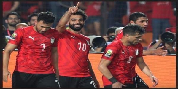 هدفا منتخب مصر في مرمى الكونغو