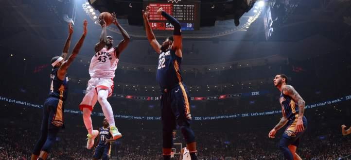 NBA: تورنتو يفتتح الموسم الجديد بفوز على نيو اورليانز بعد وقت اضافي
