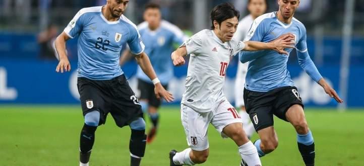اهداف مباراة اليابان والاوروغواي الاربعة