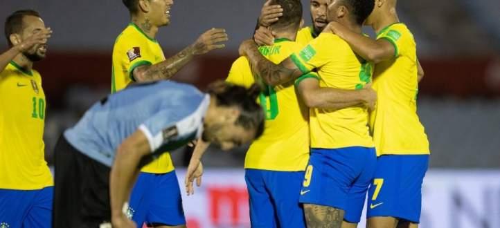 اهم مجريات مباراة البرازيل والاوروغواي الارجنتين وبيرو في تصفيات كأس العالم