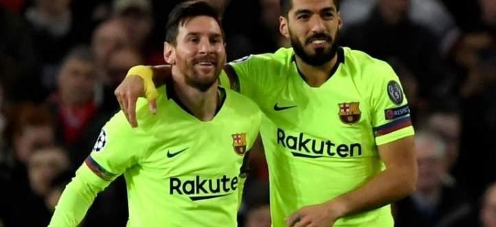 هدف برشلونة في مرمى مانشستر يونايتد