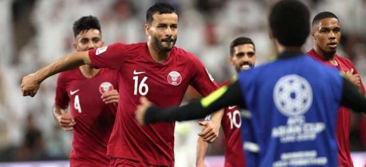 رباعية قطر في مرمى الامارات ضمن نصف نهائي امم اسيا