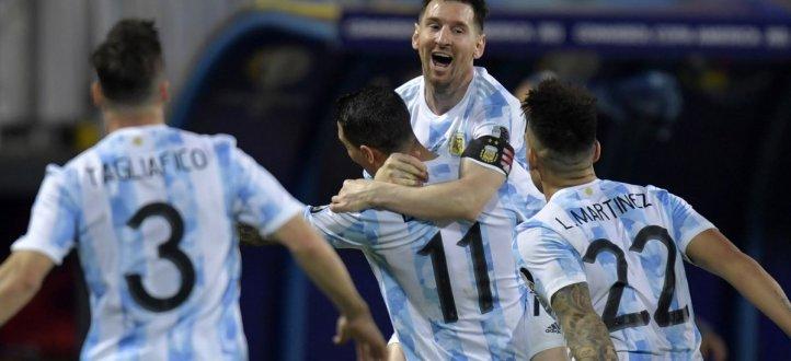 أهم مجريات المباراة بين الأرجنتين والإكوادور