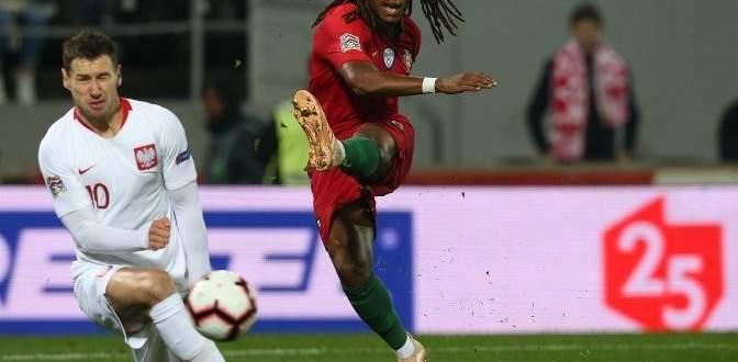هدفا مباراة البرتغال وبولندا في اختتام مباريات دوري امم اوروبا