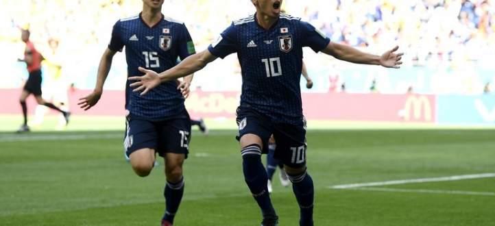 ابرز لقطات مباراة اليابان و كولومبيا