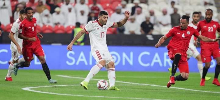 خماسية ايران في مرمى المنتخب اليمني