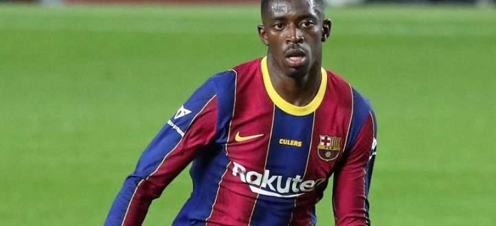 ديمبيلي يتعرض للسخرية من جماهير برشلونة