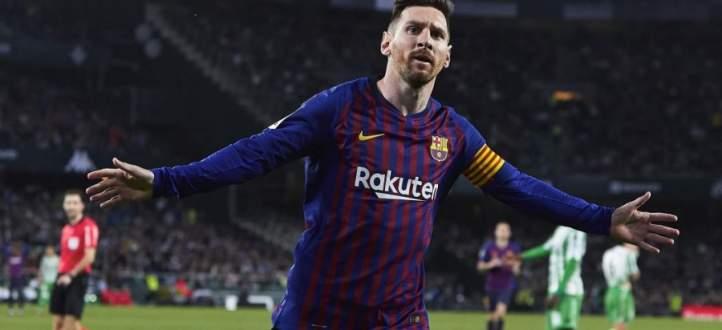اهداف مباراة برشلونة وريال بيتيس الخمسة