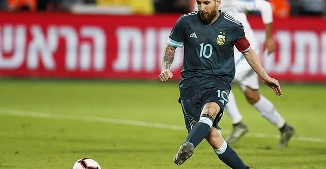 اهداف مباراة الارجنتين والاوروغواي الاربعة