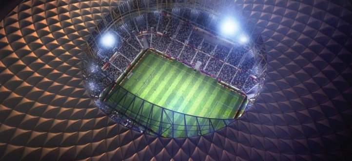 الكشف عن تصميم استاد لوسيل المستضيف لافتتاح ونهائي مونديال قطر 2022