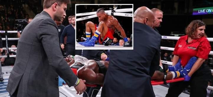 بالفيديو: ملاكم يدخل في غيبوبة بعد سقوطه بالضربة القاضية