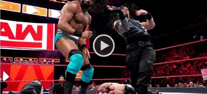 موقع WWE الرسمي الانكليزي يخطئ بنتيجة مباراة رومان راينز وكيفن اوينز