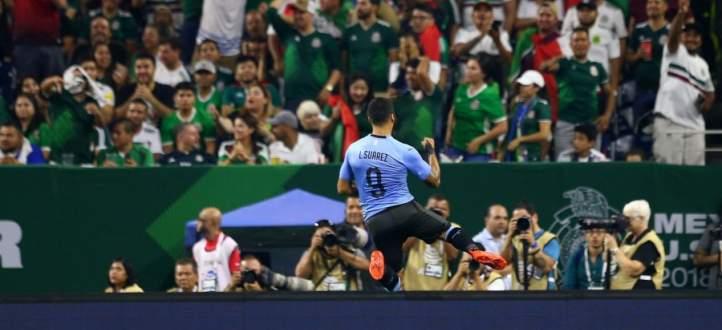 اهداف مباراة الاورغواي والمكسيك الخمسة