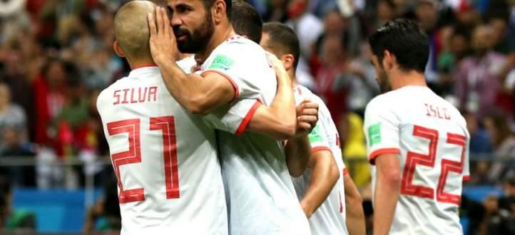 اسبانيا تعبر مطب ايران بفوز خجول والحسم في الجولة الاخيرة