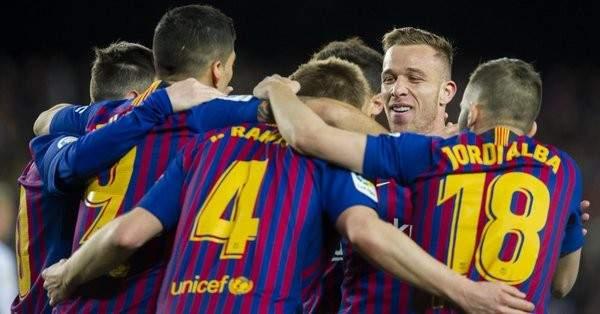 اهداف مباراة برشلونة وفالنسيا الاربعة