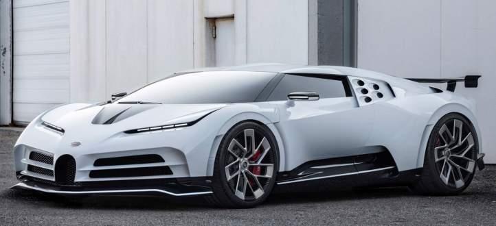 شركة بوغاتي تطلق سيارتها الخارقة الجديدة