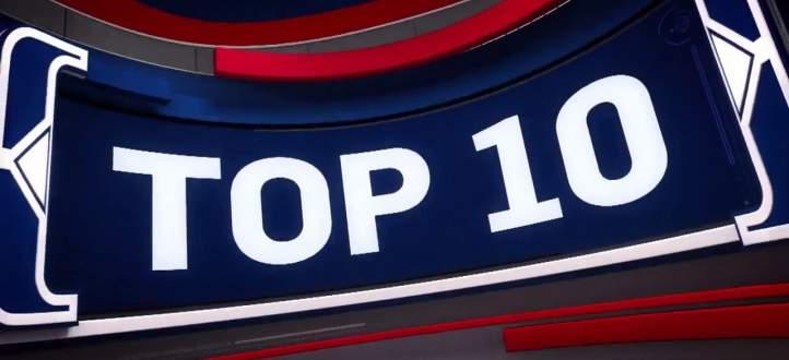 افضل 10 لقطات في مباريات 22 كانون الثاني في NBA
