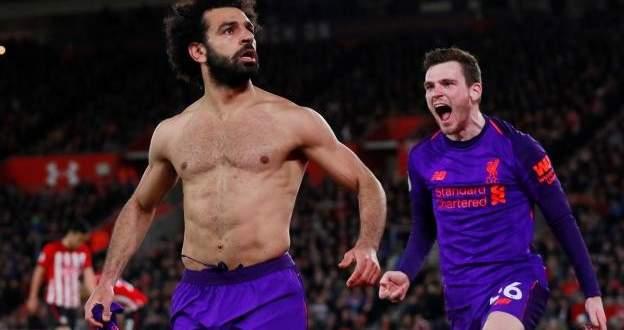 اهداف مباراة ليفربول وساوثمبتون الاربعة