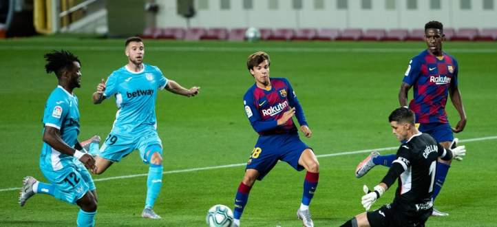 علامات وأهداف لاعبي مباراة برشلونة - ليغانيس