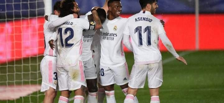 احداث مباراة الريال وخيتافي في الدوري الاسباني وابرز الاحصاءات