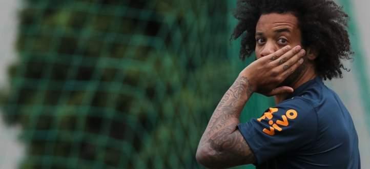 دخلاء في تمارين المنتخب البرازيلي