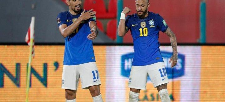 أبرز لقطات فوز البرازيل على الباراغواي 2-0