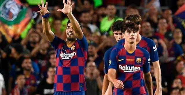 اهداف مباراة كاس خوان غامبر بين برشلونة وارسنال