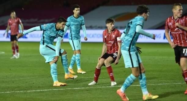 اهداف مباراة ليفربول ولينكولن سيتي في كاس كارباو