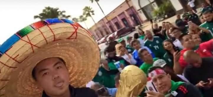 المكسيكيون يعبّرون عن حبهم الأخوي للكوريين