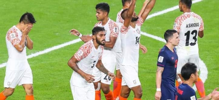 اهداف مباراة تايلاند والهند الخمسة في بطولة امم اسيا