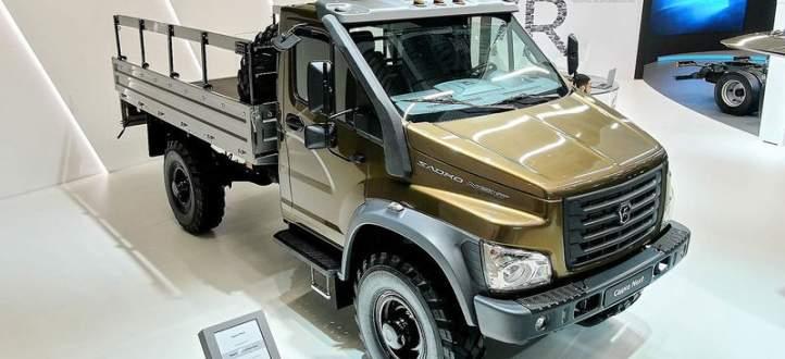تعرف على النماذج الجديدة من شاحنات GAZ