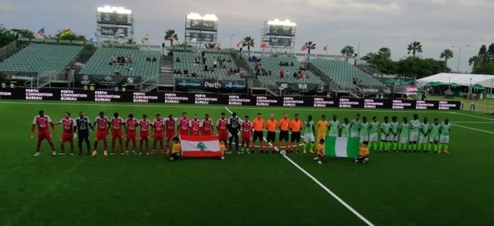 فيديو: أبرز أحداث مباراة لبنان ونيجيريا