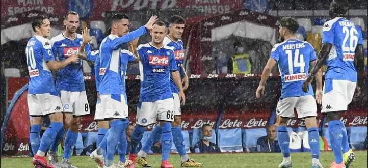 اهداف مباراة لاتسيو ونابولي في الجولة الاخيرة من الدوري الايطالي
