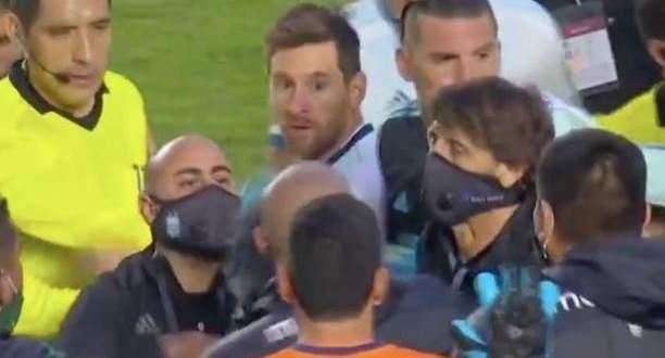 الكشف عن السبب الذي أثار غضب ميسي بعد نهاية مباراة بوليفيا والارجنتين