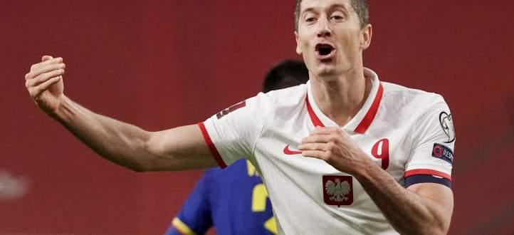 اهم مجريات المباراة بين بولندا واندورا