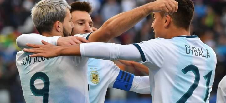 ابرز لقطات مباراة الارجنتتين والتشيلي في كوبا اميركا