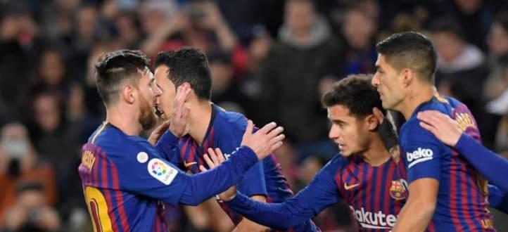 اهداف مباراة برشلونة واشبيليه في اياب كاس ملك اسبانيا