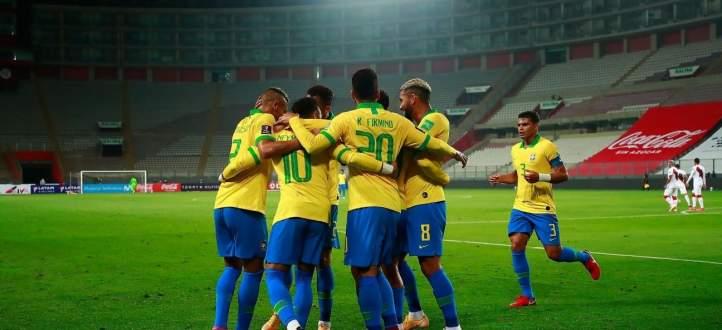 اهداف مباراة البرازيل والبيرو في تصفيات كاس العالم