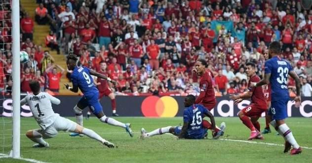 اهداف مباراة كأس السوبر الاوروبي بين تشيلسي وليفربول