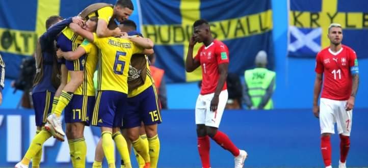 5 حقائق عن مباراة السويد وسويسرا