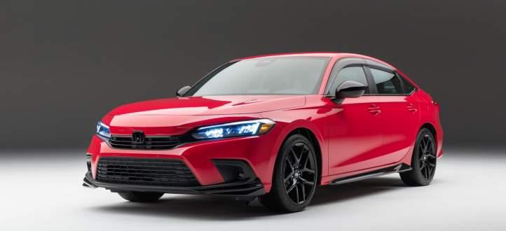 هوندا تكشف عن النموذج الجديد من سيارات Civic