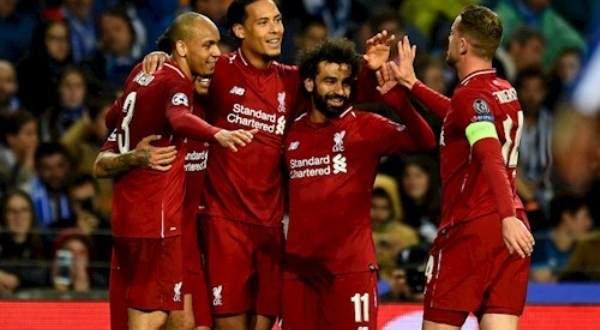 اهداف مباراة اياب ربع نهائي الابطال بين ليفربول وبورتو
