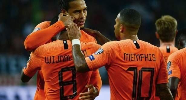 اهداف مباراة المانيا وهولندا الستة في تصفيات يورو 2020