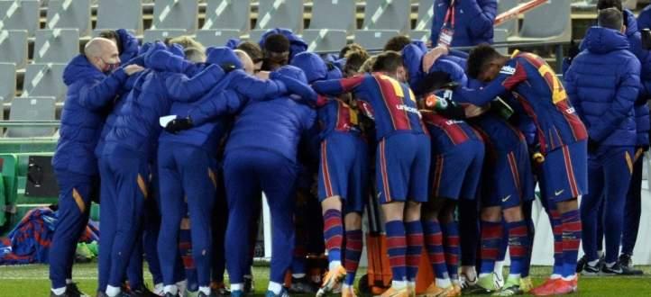 مجريات مباراة برشلونة وسوسييداد في كأس السوبر الاسباني