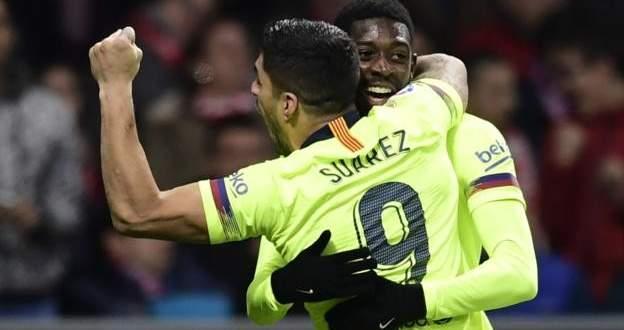 هدفا مباراة برشلونة واتلتيكو مدريد